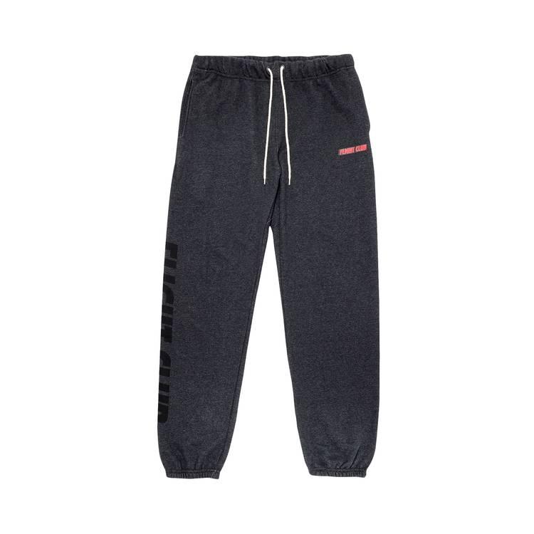 Flight Club Oversized Logo Sweatpants 'Dark Gray'