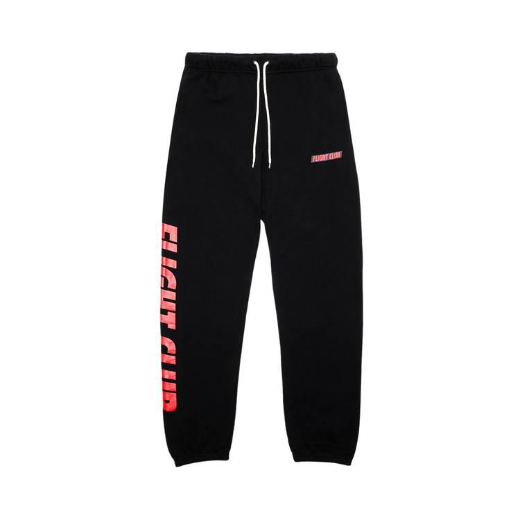 Flight Club Oversized Logo Sweatpants 'Black'