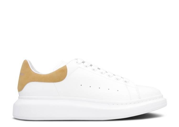 Alexander McQueen Oversized Sneaker 'White Camel'