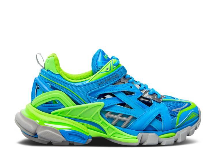 Balenciaga Track.2 Trainer 'Blue Green'
