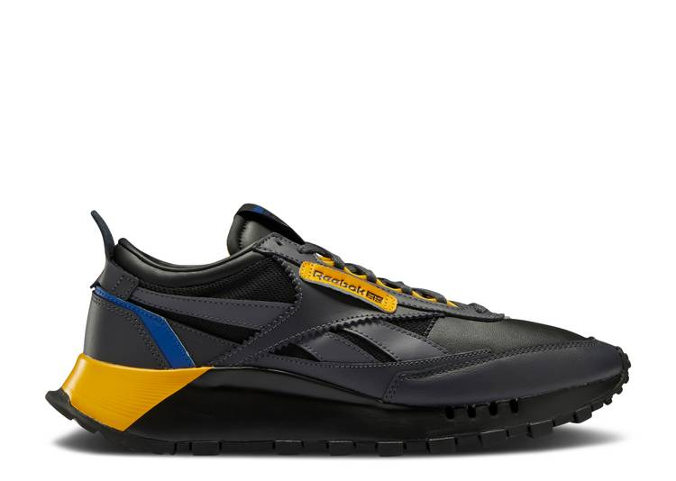 Wmns Classic Leather Legacy 'Black Collegiate Gold'