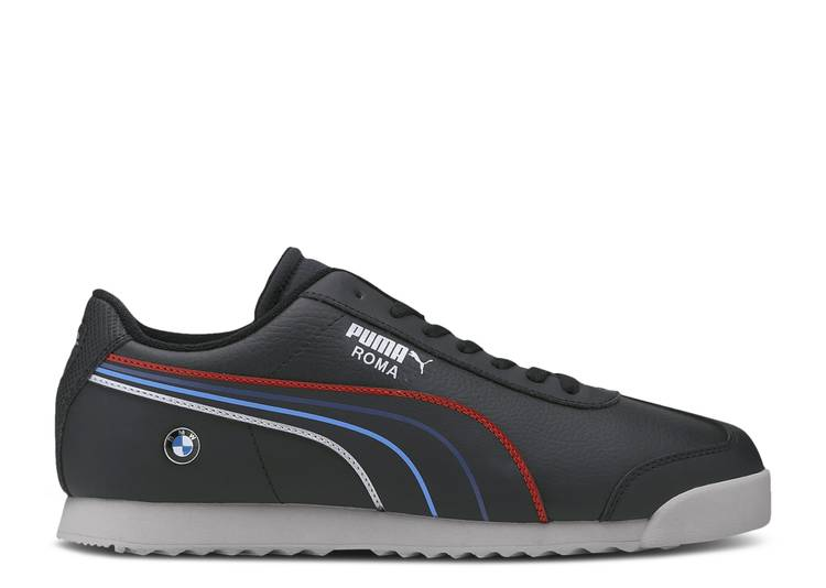 BMW Motorsport x Roma 'Tricolor Stripes - Black'