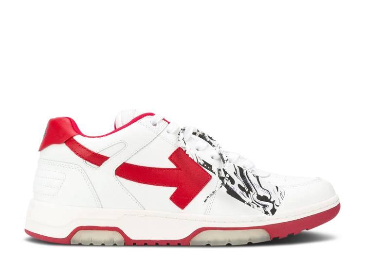 Off-White Out of Office 'White Red'