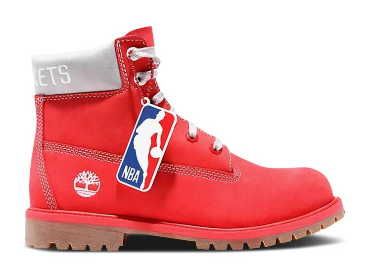NBA x 7 Inch Classic Premium Boot Junior 'Houston Rockets'