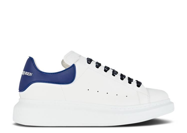 Alexander McQueen Wmns Oversized Sneaker 'White Navy'