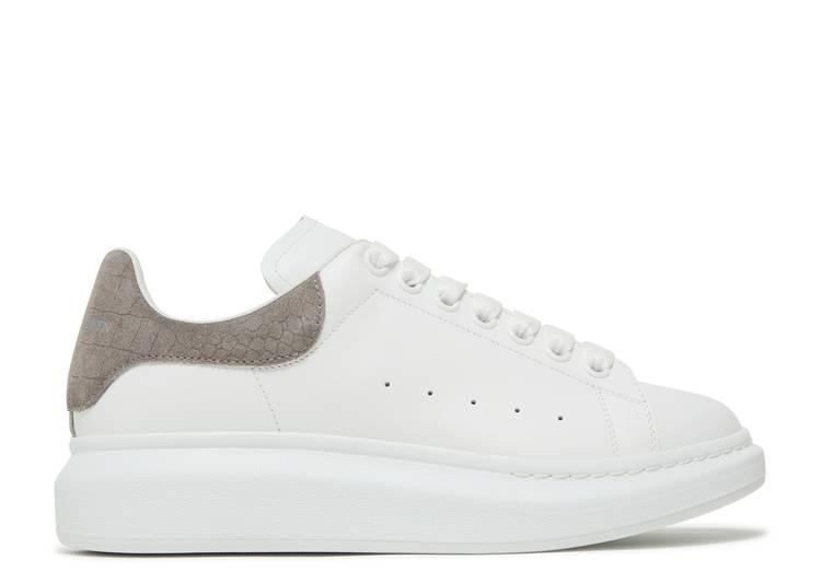 Alexander McQueen Oversized Sneaker 'Lead Crocodile'