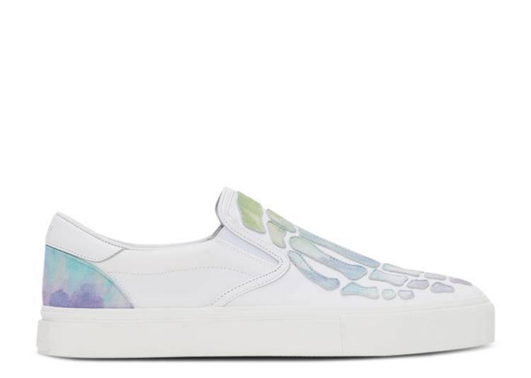Amiri Slip-On 'Skeleton Toe - White Watercolor'