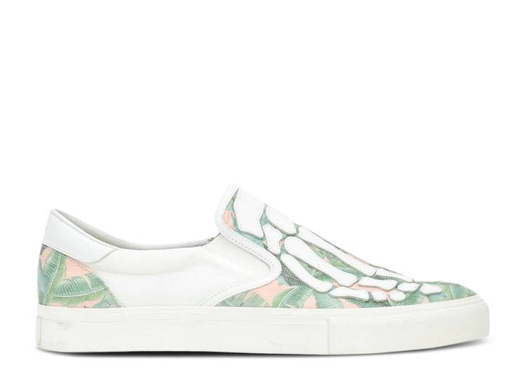 Amiri Slip-On 'Skeleton Toe - Banana Leaf'