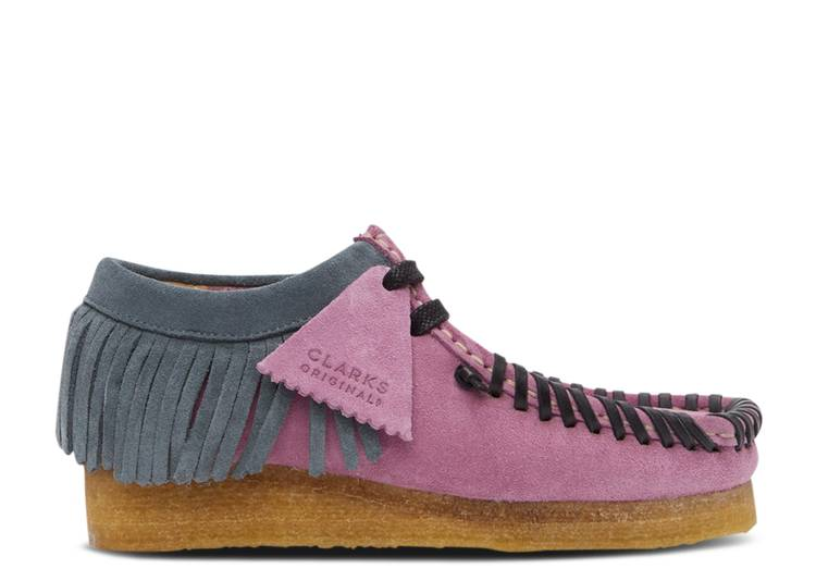 Palm Angels x Fringed Wallabee Moccasin 'Lilac'