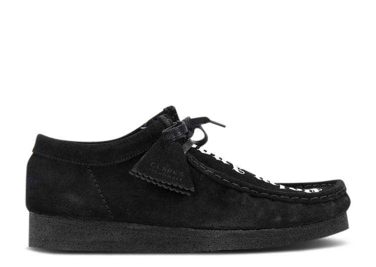 Palm Angels x Fringed Wallabee Moccasin 'Black'