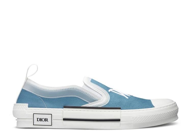 Shawn Stussy x Dior B23 Slip-On 'Blue Canvas'