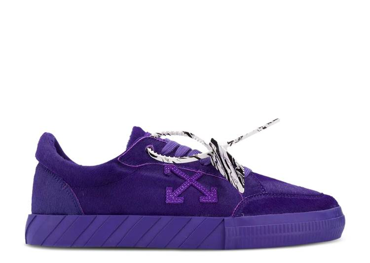 Off-White Vulc Sneaker Low 'Purple'