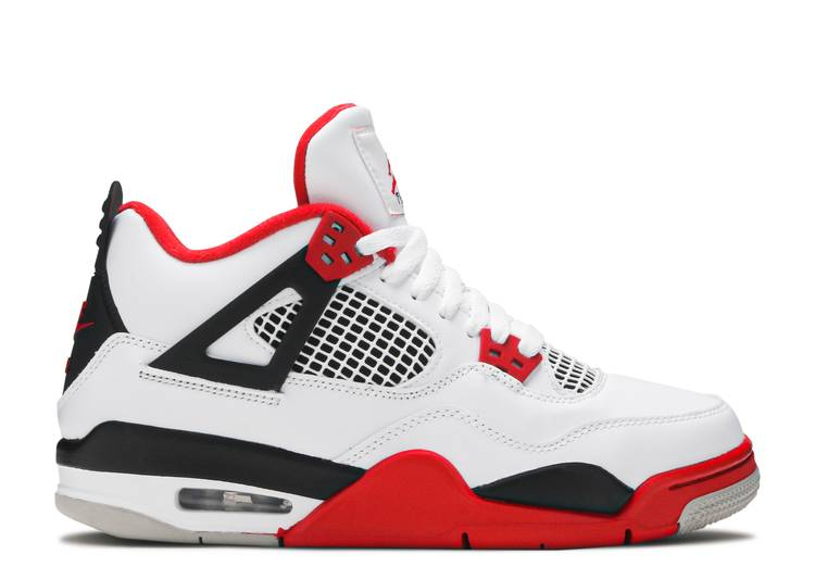Air Jordan 4 Retro OG GS 'Fire Red' 2020