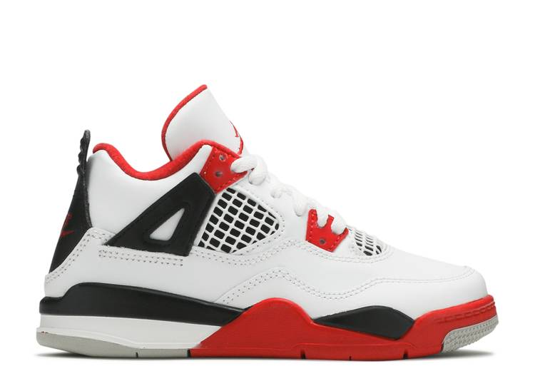 Air Jordan 4 Retro OG PS 'Fire Red' 2020