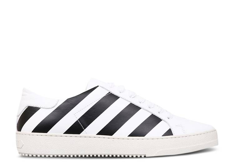 Off-White Classic Diagonals Sneaker 'White Black'