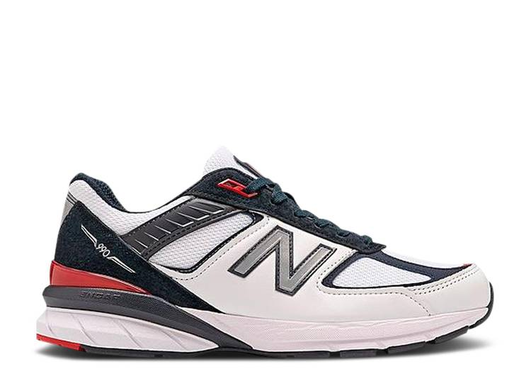 990v5 Made in USA 'White Carbon Red'