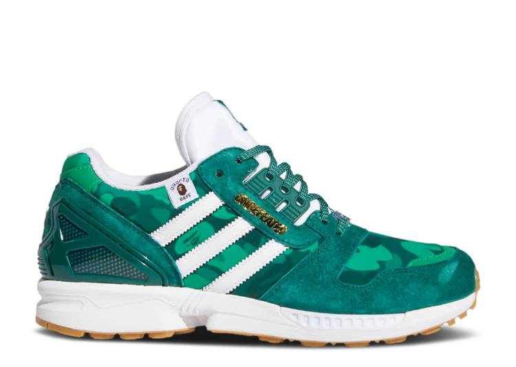 BAPE x Undefeated x ZX 8000 'A-ZX Series - Green Camo'