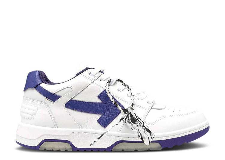 Off-White Out of Office Low 'White Purple'