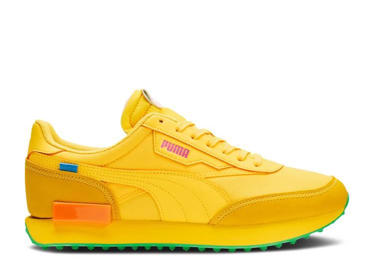 Fashion Geek x Future Rider 'Ultra Yellow'
