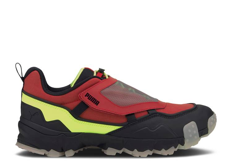 Trailfox Overland Transparent 'High Risk Red Black'