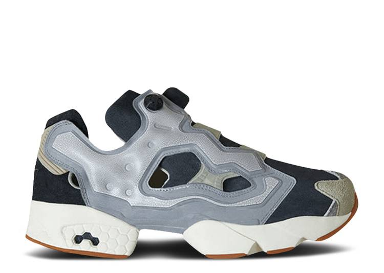 END. x InstaPump Fury 'Fossil Pack - Pure Grey'