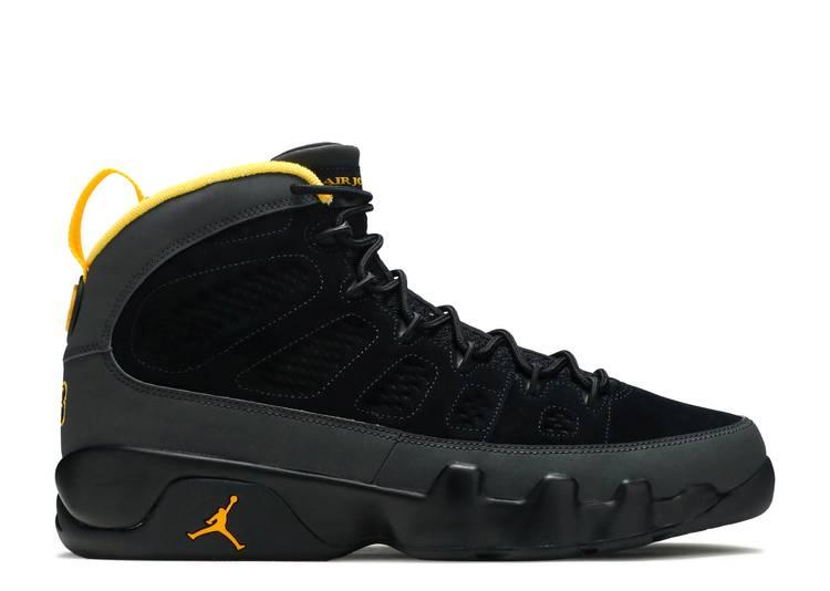 Air Jordan 9 Retro 'Dark Charcoal University Gold'