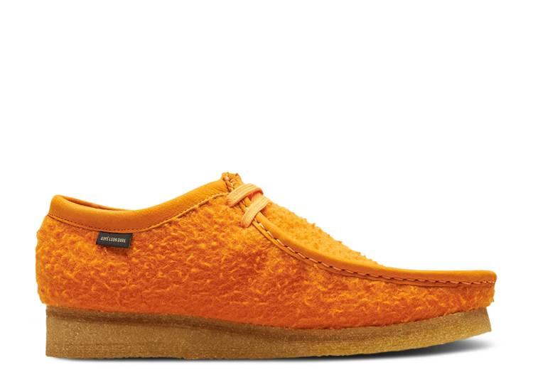 Aimé Leon Dore x Wallabee Casentino Wool 'Orange'