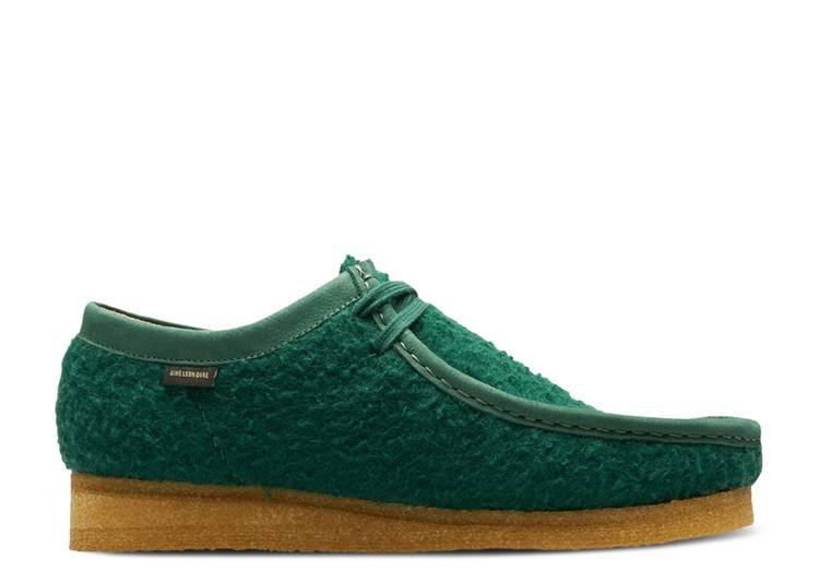 Aimé Leon Dore x Wallabee Casentino Wool 'Green'