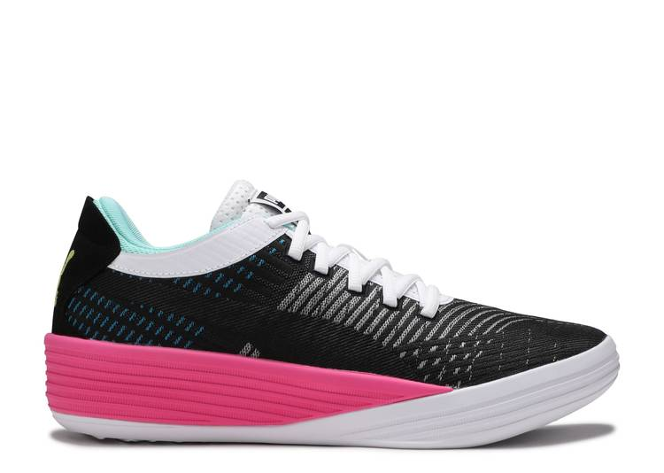 Clyde All-Pro 'Black Luminous Pink'