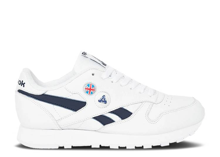 Palace x Classic Pump 'White Vector Navy'