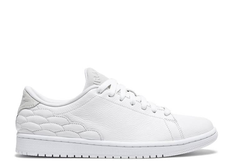 Air Jordan 1 Centre Court 'White on White'