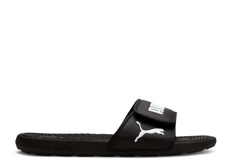 Wmns Cool Cat 5 Slides 'Black White'
