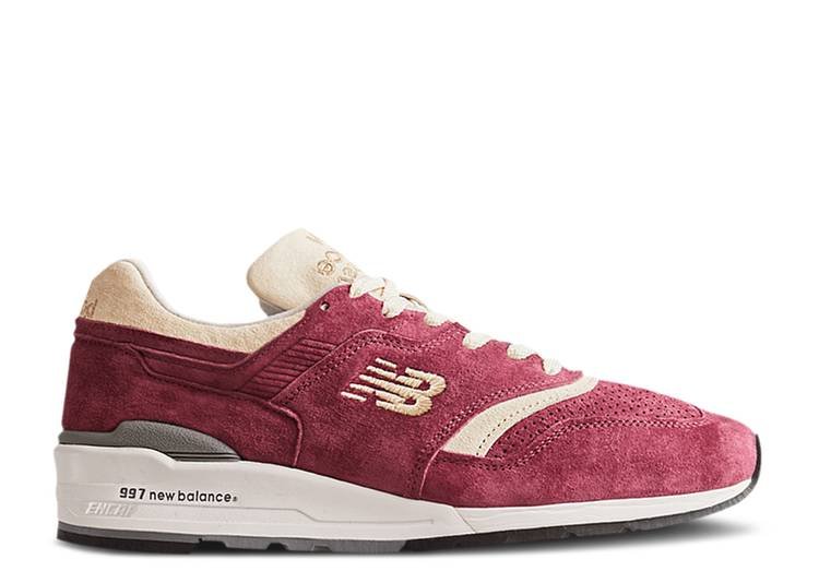 Todd Snyder x 997 Made In USA 'Triborough - Burgundy'