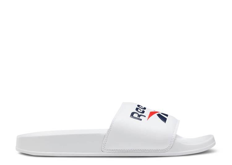 Classic Slide 'White Navy'