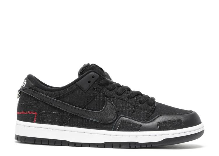 Wasted Youth x Dunk Low SB 'Black Denim'