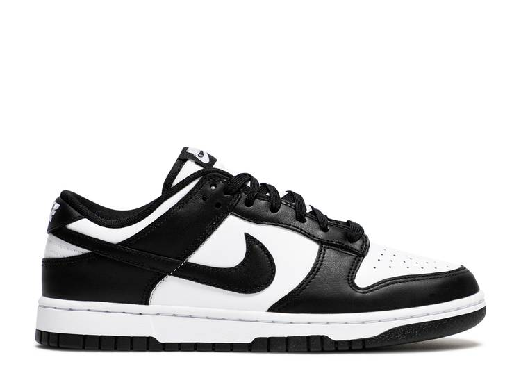 Dunk Low 'Black White'