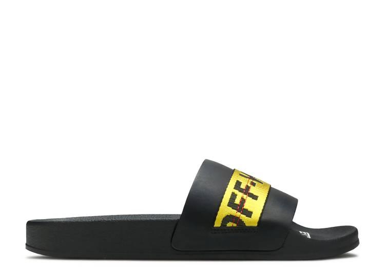 Off-White Sliders 'Black Yellow'