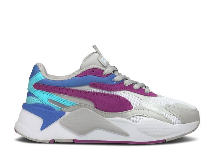 RS-X3 Jr 'Neon Frame - Grey Violet'