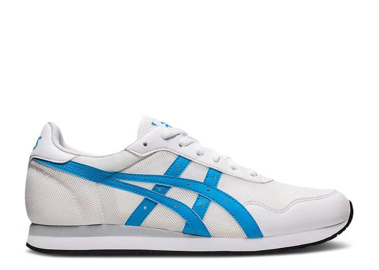 Tiger Runner 'White Aizuri Blue'