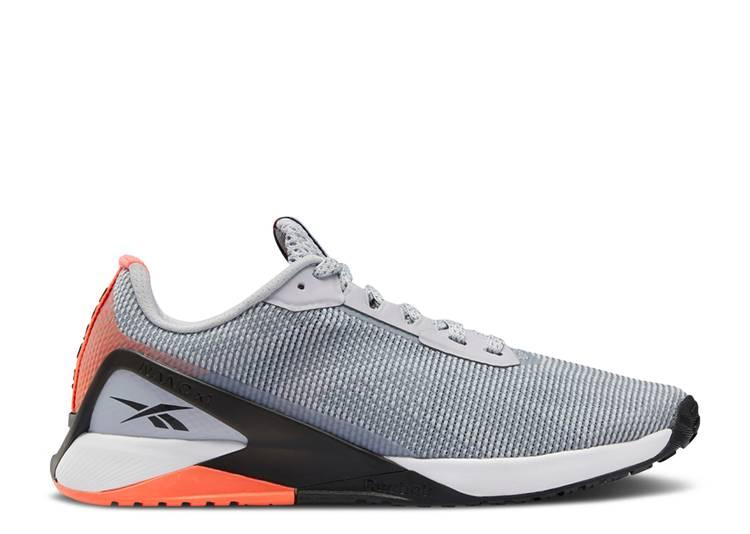 Wmns Nano X1 Grit 'Grey Orange Flare'