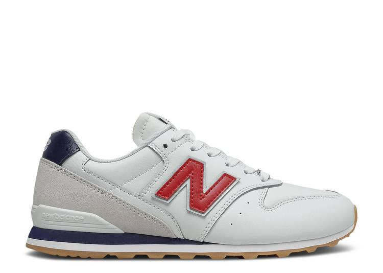 Wmns 996 2E Wide 'White Red Navy'