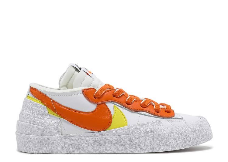 Sacai x Blazer Low 'Magma Orange'