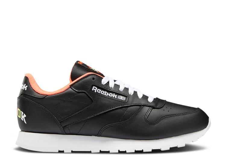 Classic Leather 'Black Orange Flare'
