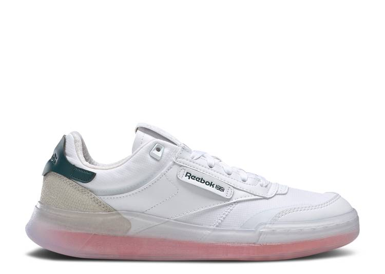Wmns Club C Legacy 'White Twisted Coral'
