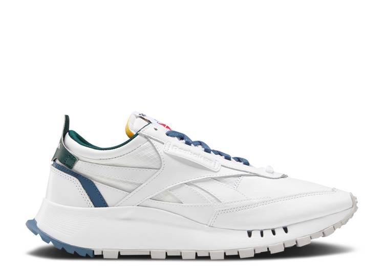 Classic Leather Legacy 'White Brave Blue'