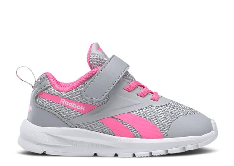 Rush Runner 3 Toddler 'Grey Electro Pink'