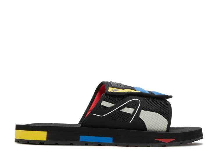 Mirage Mox Sandal 'Black Poppy Red'