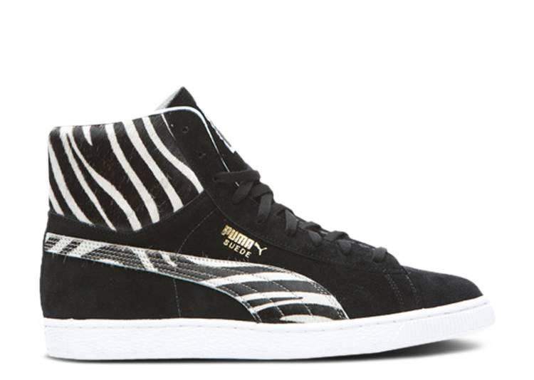 Japan Suede Mid 'Zebra'