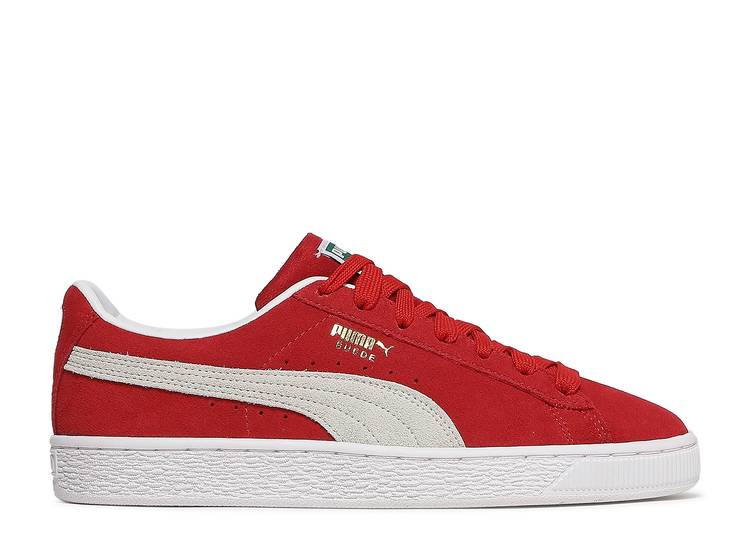 Suede Classic 21 Jr 'High Risk Red'