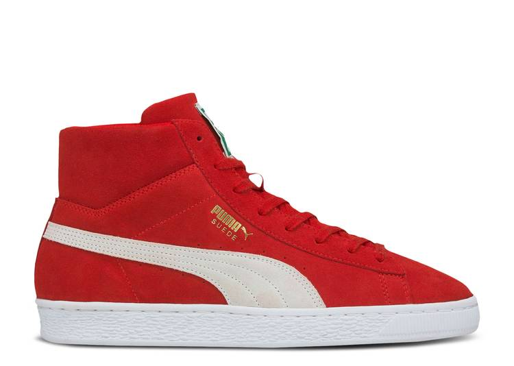 Suede Mid 21 'High Risk Red'